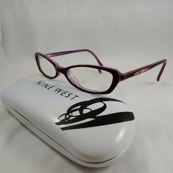 Nine West Other - NINE WEST Rx Eyeglass Frames Oval Purple Junior